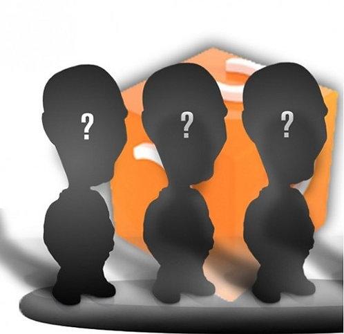 Figurines personnalisées 100% - GROUPE 3 PERSONNES sur le même socle