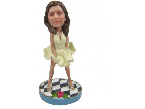 Figurine personnalisée MARYLIN MONROE