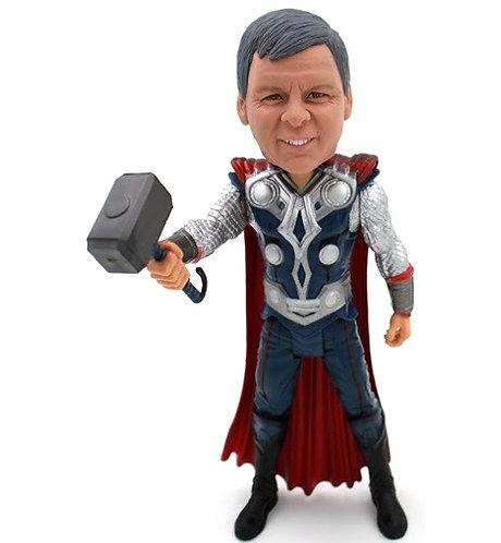 Figurine personnalisée homme superheros THOR