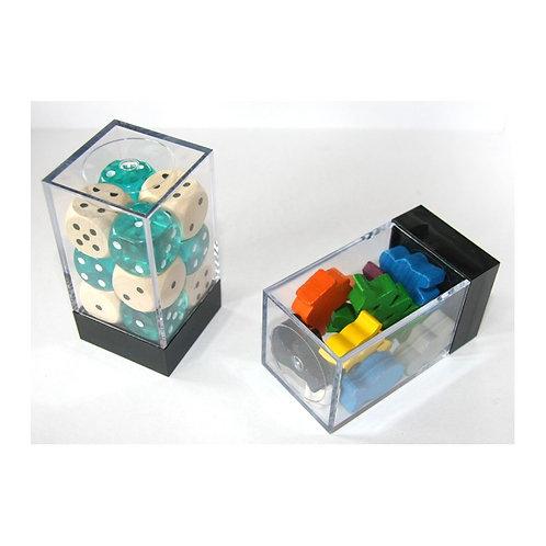 Mini boîte de rangement pour pions ou dés
