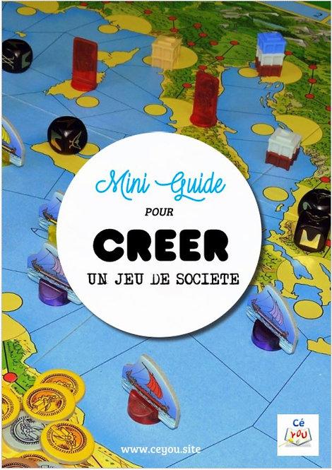 Mini-guide pour créer un jeu de société