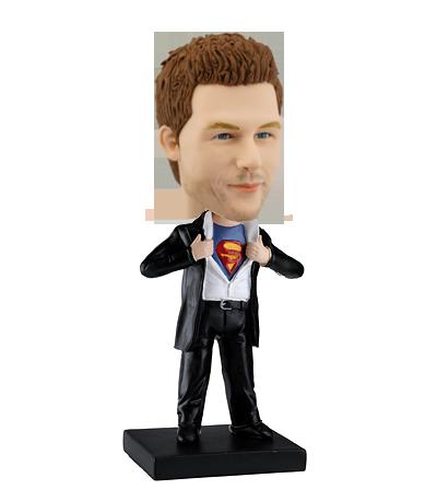 Figurine personnalisée homme CLARK - SUPERMAN