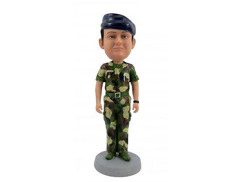 Figurine personnalisée SOLDAT