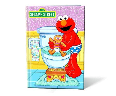 Sesame street, adieu les couches !  Livre personnalisable enfant