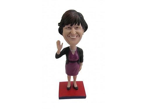 Figurine personnalisée femme chic - femme d'affaires