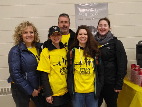 2nd Annual Steps for Life Walk