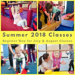 Summer Classes 2018