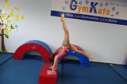 Handstands on Block