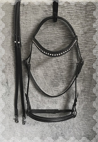 Deluxe amazing 2in1 bitless bridle