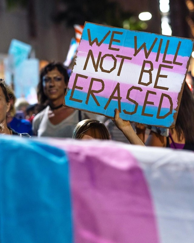 Transgender rights have often been neglected
