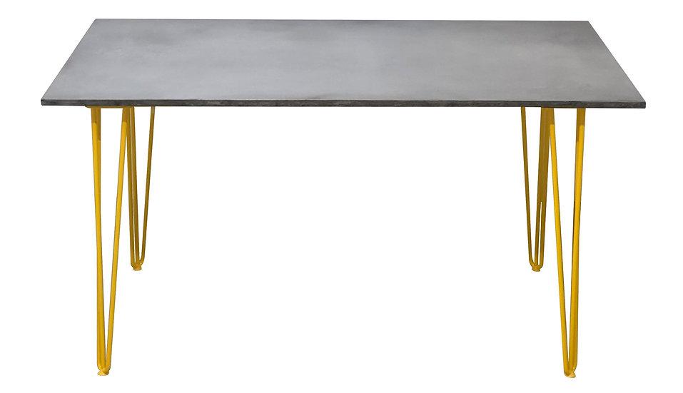 Siena Concrete Dining table 200cm x 100cm Multiple concrete and leg colours