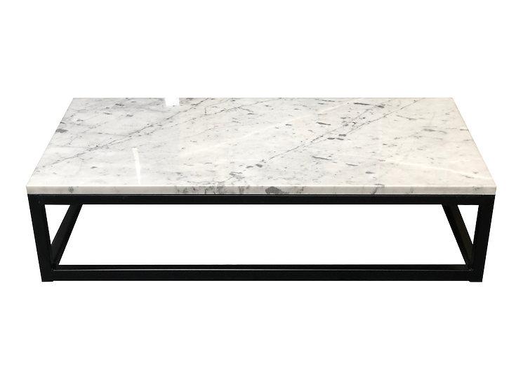Sorrento Carrara Marble Coffee Table