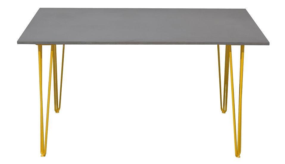 Siena Concrete Dining table 220cm x 100cm Multiple concrete and leg colours