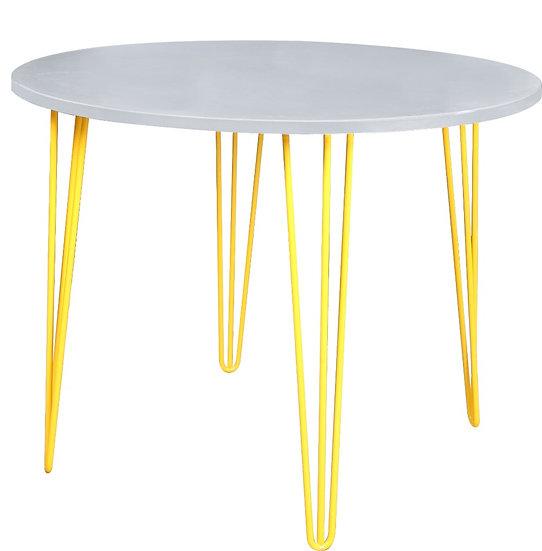 Cento Round Concrete Dining table 180cm
