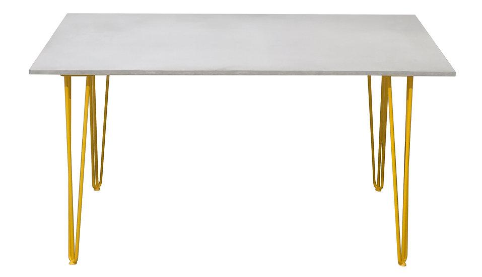 Siena Concrete Dining table 180cm x 100cm Multiple concrete and leg colours
