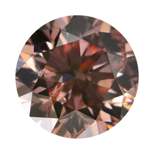 Natural Pink Champagne, 0.17 ct., Round Cut, SI1 (Argyle #373583)