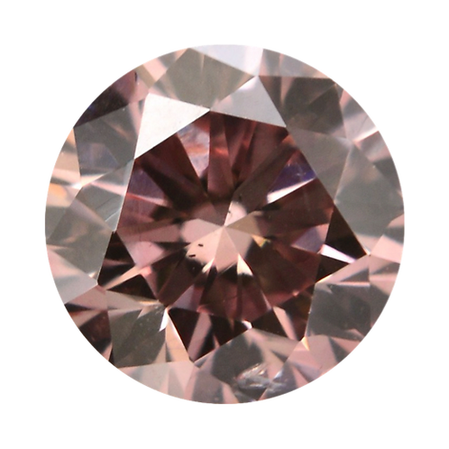 Natural Pink Champagne, 0.19 ct., Round Cut, VS2 (Argyle #373725)