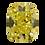 Thumbnail: Fancy Vivid Yellow, 0.24 ct., Cushion Cut, IF (GIA #6177386722)