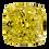 Thumbnail: Fancy Deep Yellow, 0.50 ct., Square Cut, SI1 (GIA #1213964407)