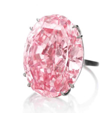 """Pink Star"" Diamond Goes to Auction"