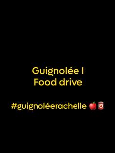 Guignolée #guignoléerachelle 🍎🥫