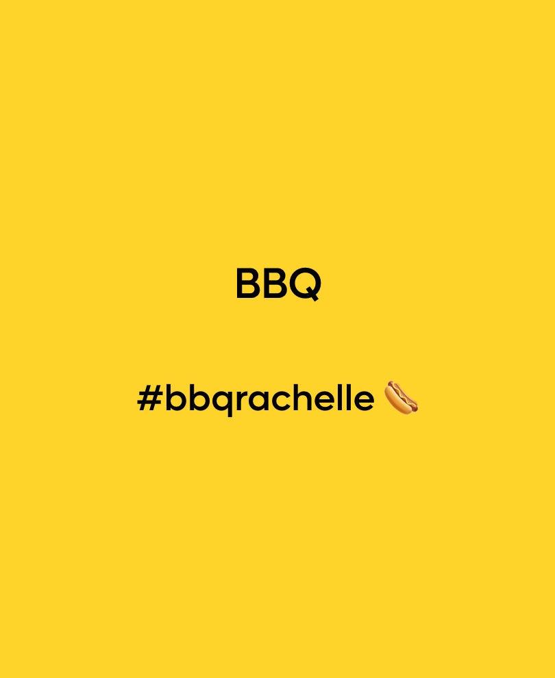 Bbq #bbqrachelle 🌭