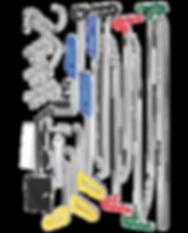 Dent Fix 33-Piece PDR Rod Kit DF-PDRKIT33