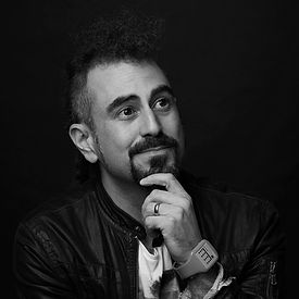 Faris Yakob Headshot 2018 - Alt - WR B&W