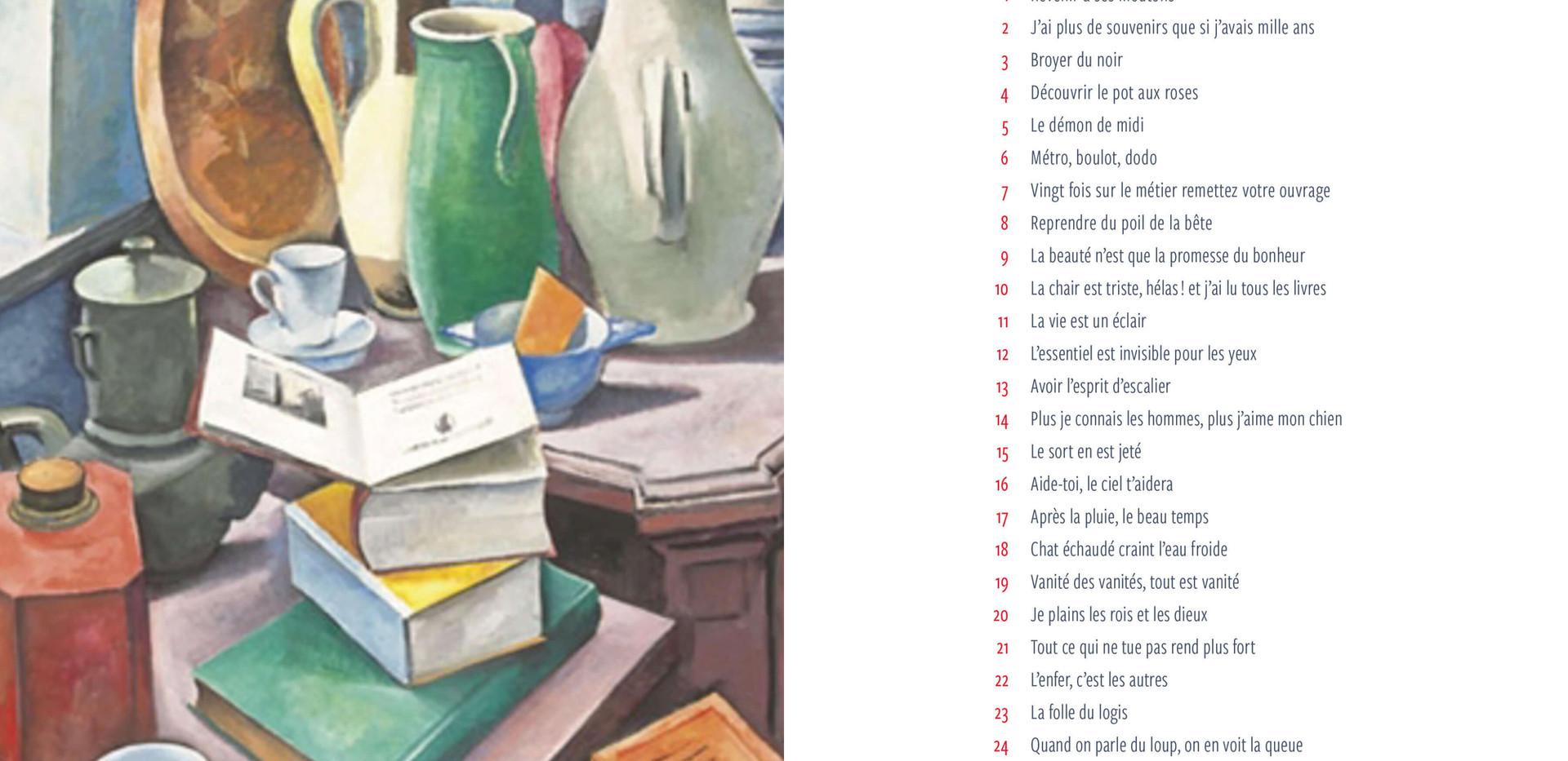 27 expressions de la langue française revisitées