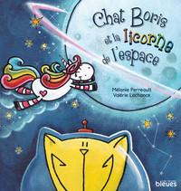 Chat Boris et la licorne de l'espace