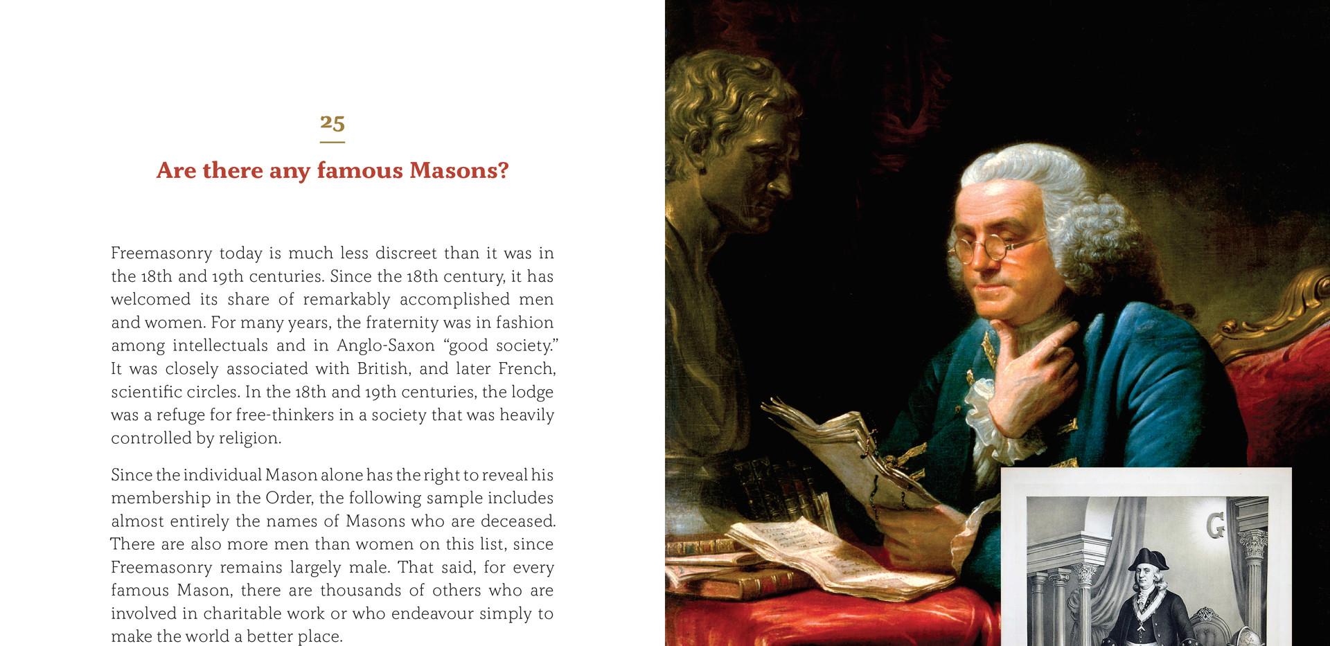 Freemasonry in 25 questions