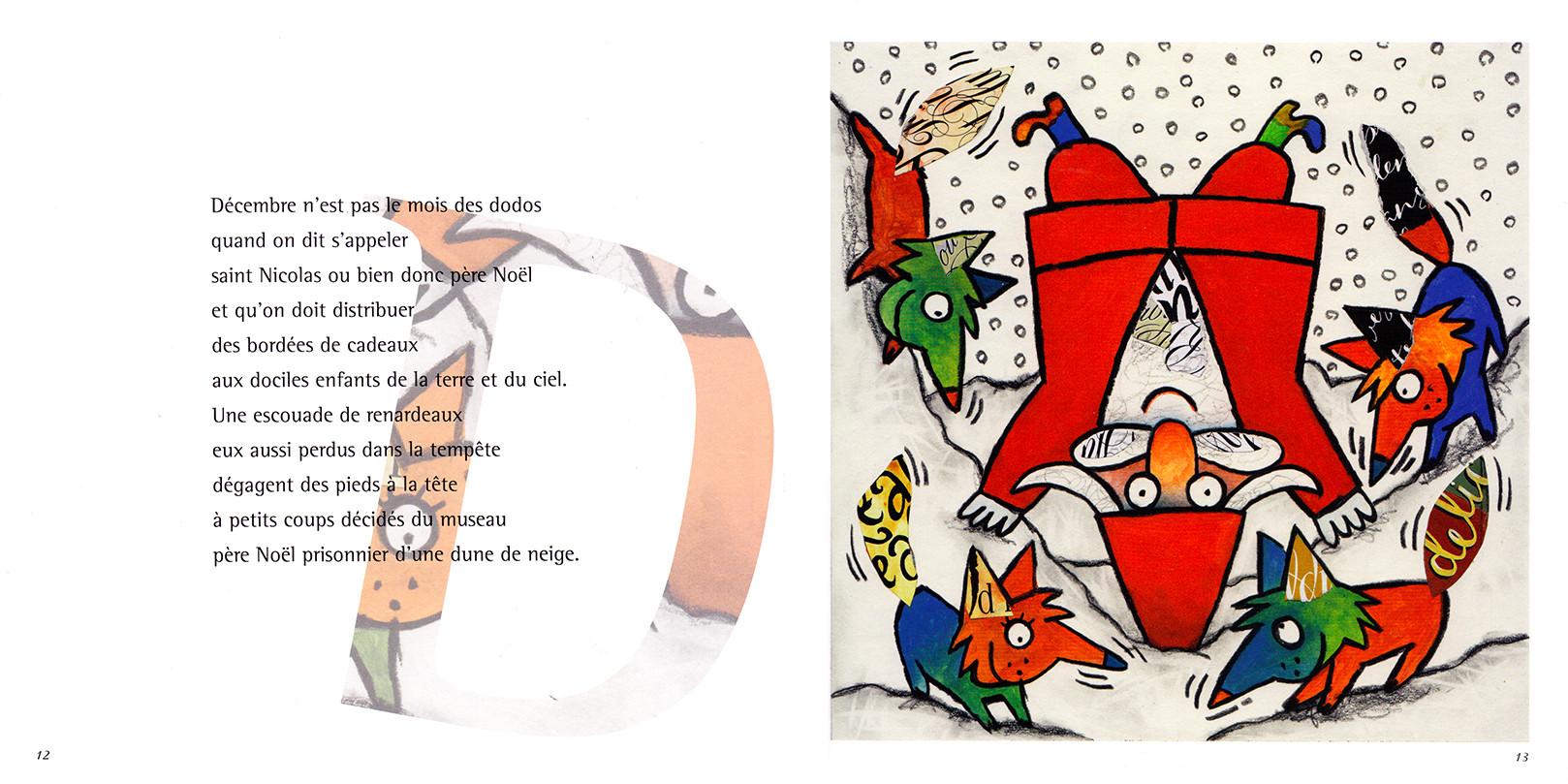 Abécédaire du père Noël
