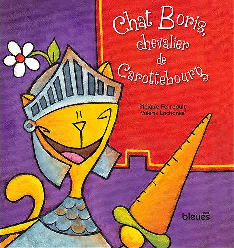 Chat Boris, chevalier de Carottebourg