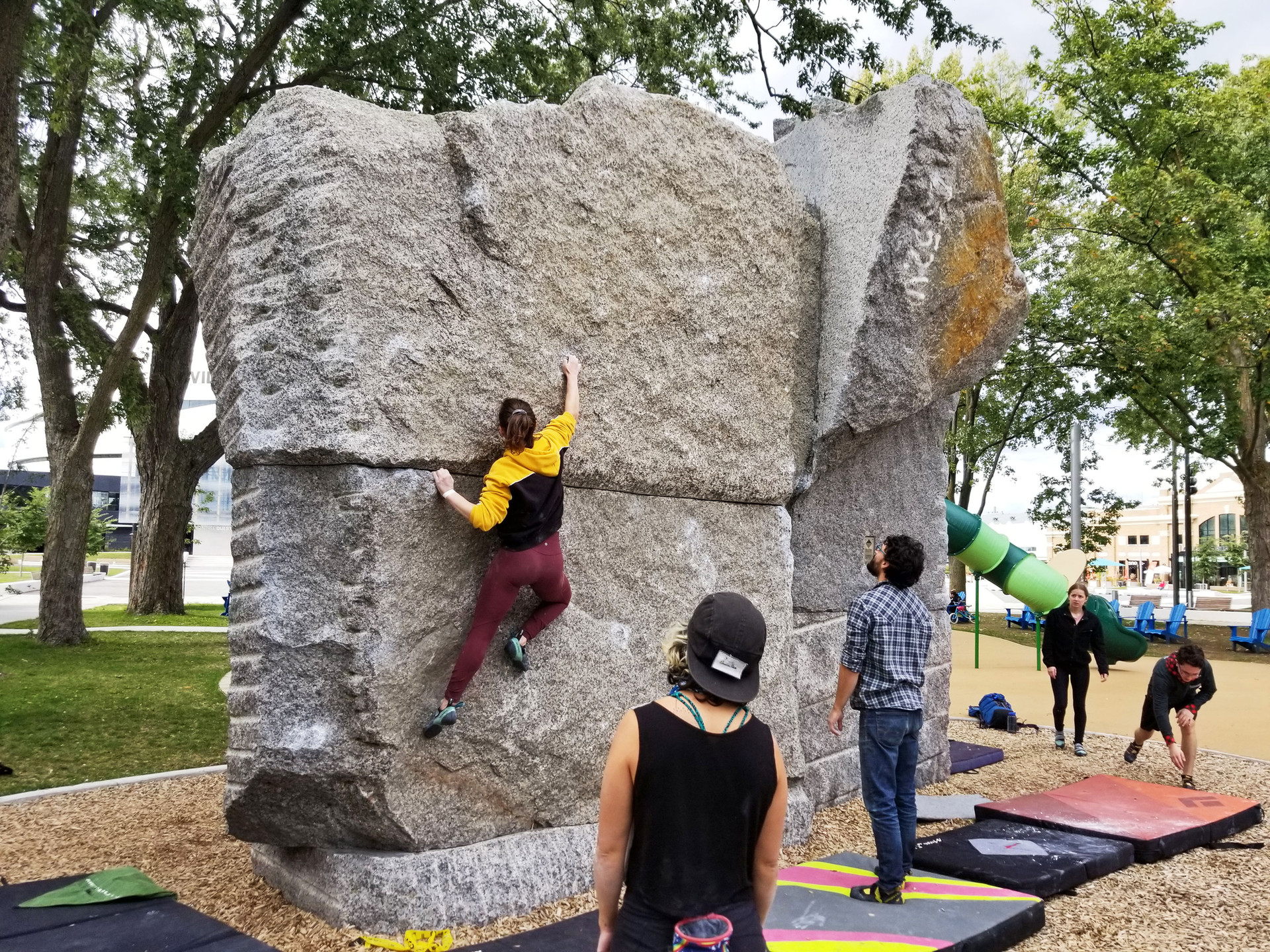 Urban Boulder - Quebec City