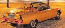 Citroen SM cabriolet