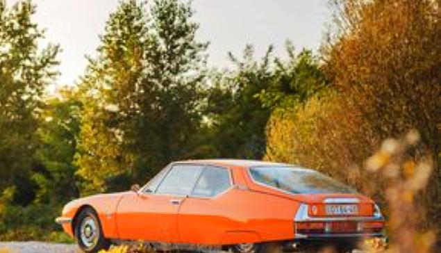 CITROEN SM Orange