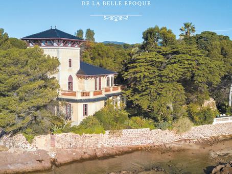 Sortie d'un nouveau livre en juin 2019 : les demeures et jardins de la belle époque à Saint-Raphaël