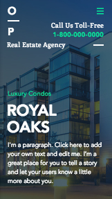 Real Estate website templates – Real Estate Landing Page