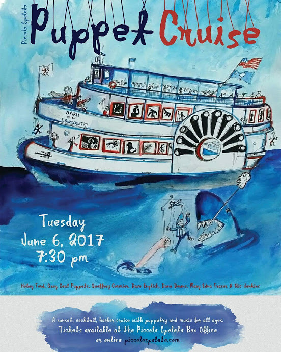 Piccolo Spoleto Puppet Cruise Poster  2017