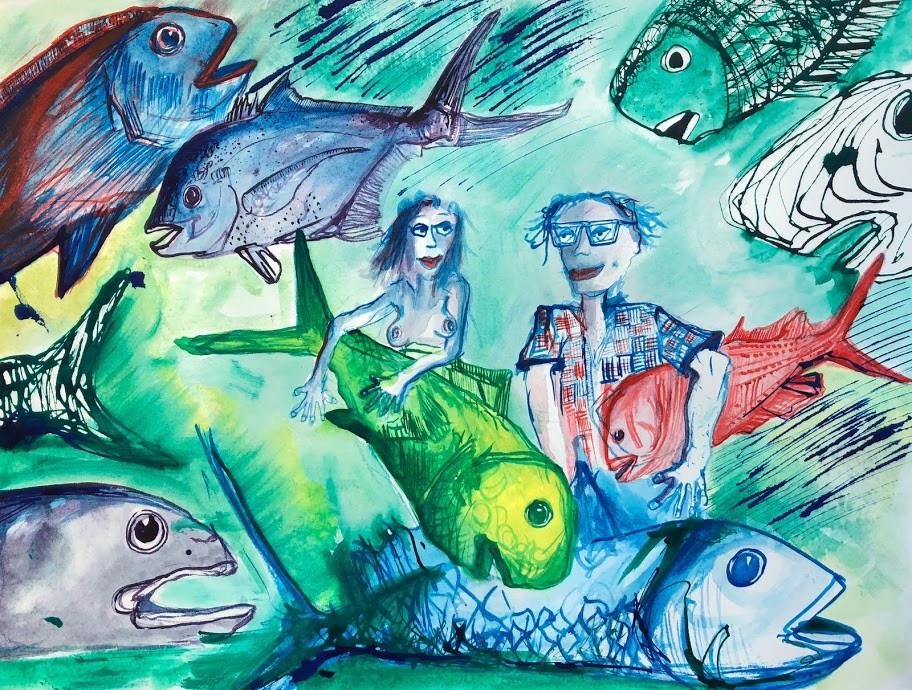 Ebb Tide  12x16  Watercolor  2016