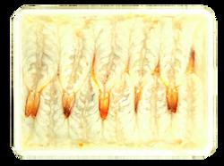 生寿司エビパック 20尾  商品番号eb00006