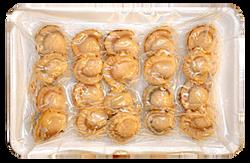 寿司用ベビーホタテ開き160g     商品番号ho00005