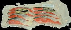 天然紅鮭切身4切 商品番号sa00003