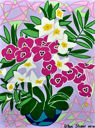 Pink Orchids 8