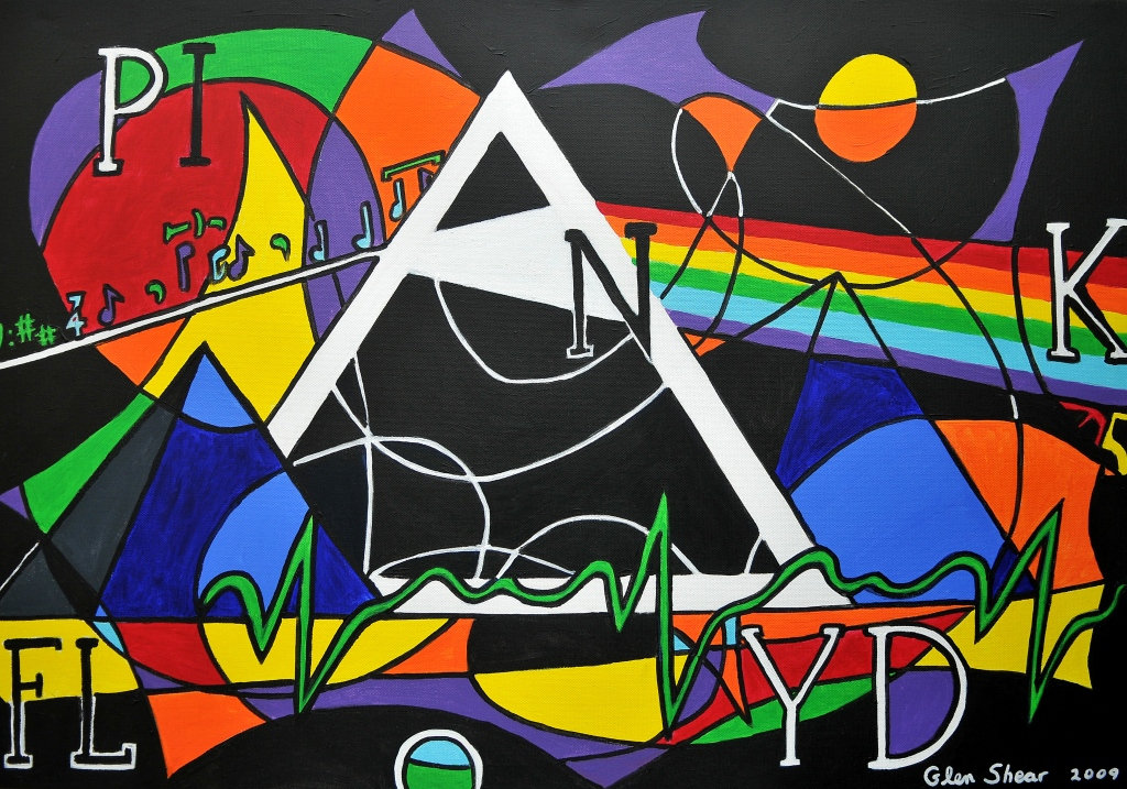 Pink Floyd - Dark Side of the Moon 35 | Shear Art (SK)