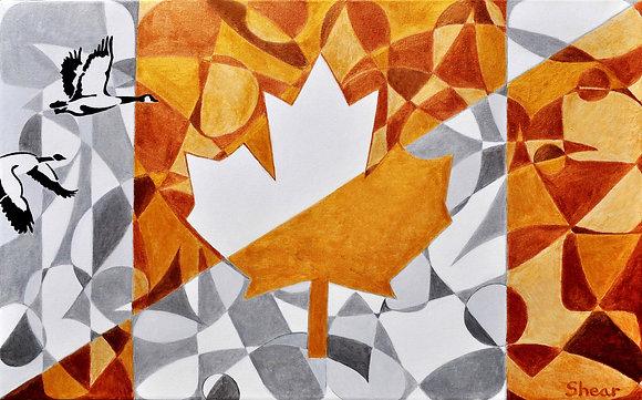 Canadian Flag - TRUE Gold