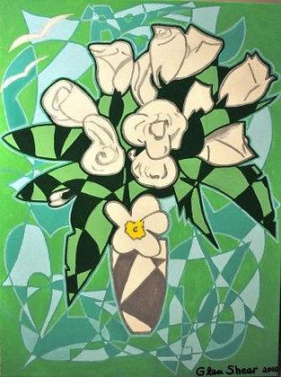 5-10 White Roses
