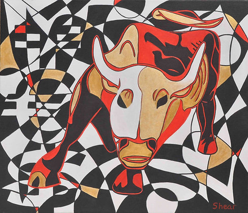 Phantom Raging Bull of Wall Street
