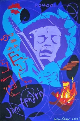 Jimi Hendrix - Purple Haze - Track 604001