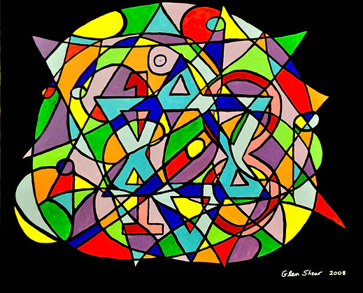Canvas 18 with Star of David 2